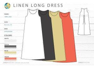 AnnaWiktoria Long Dress Resort Retailing