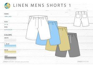 AnnaWiktoria Resort Retailing Mens Shorts