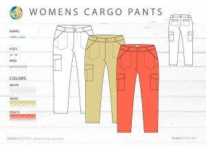 AnnaWiktoria Resort Retailing Cargo Pants