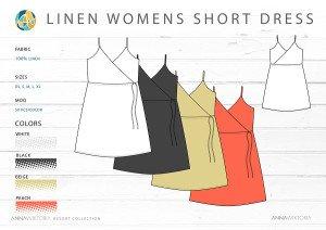 AnnaWiktoria Resort Retailing Short Dress