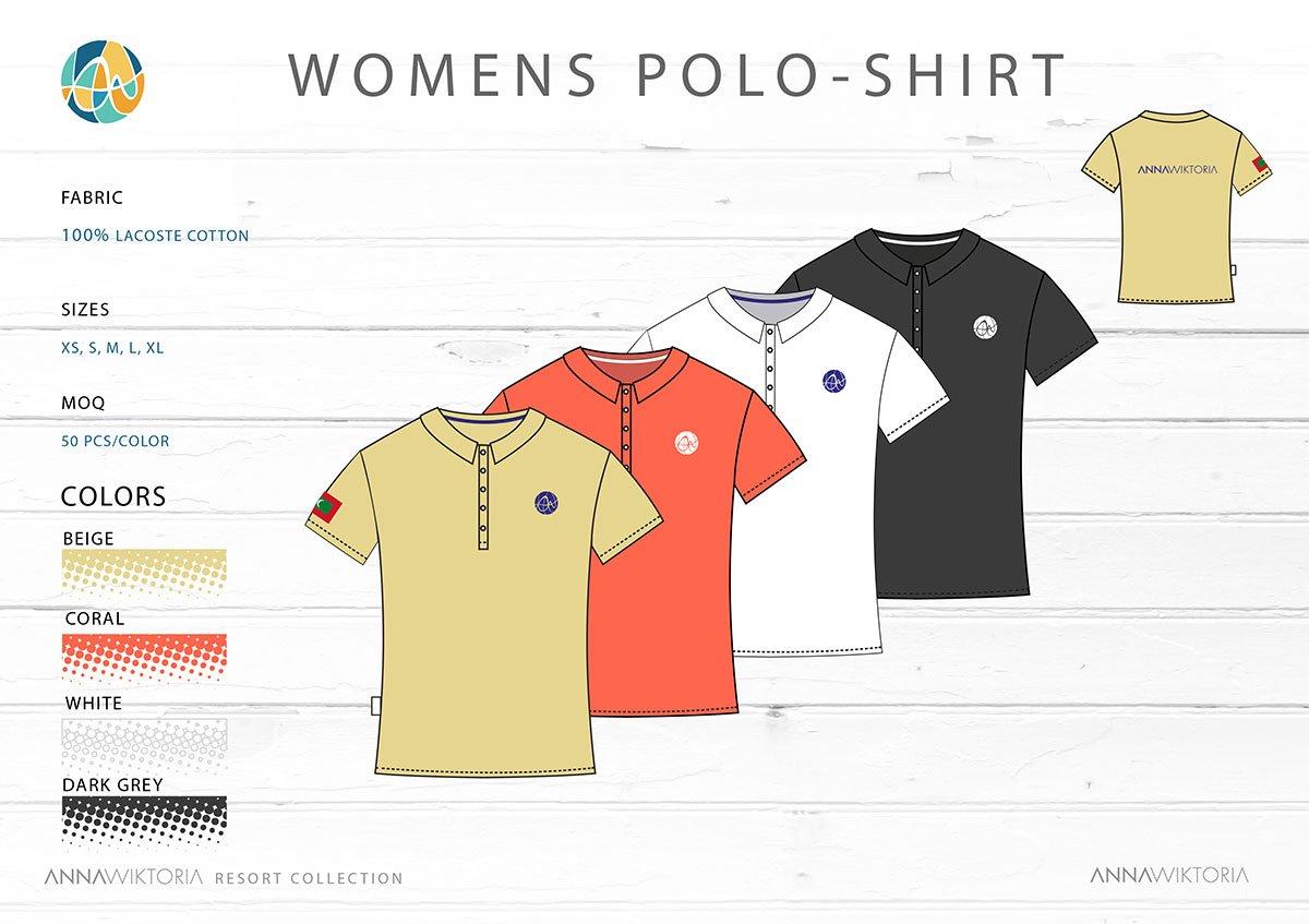 Anna Wiktoria Womens Polo