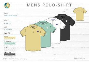 Anna Wiktoria Mens Polo Shirt