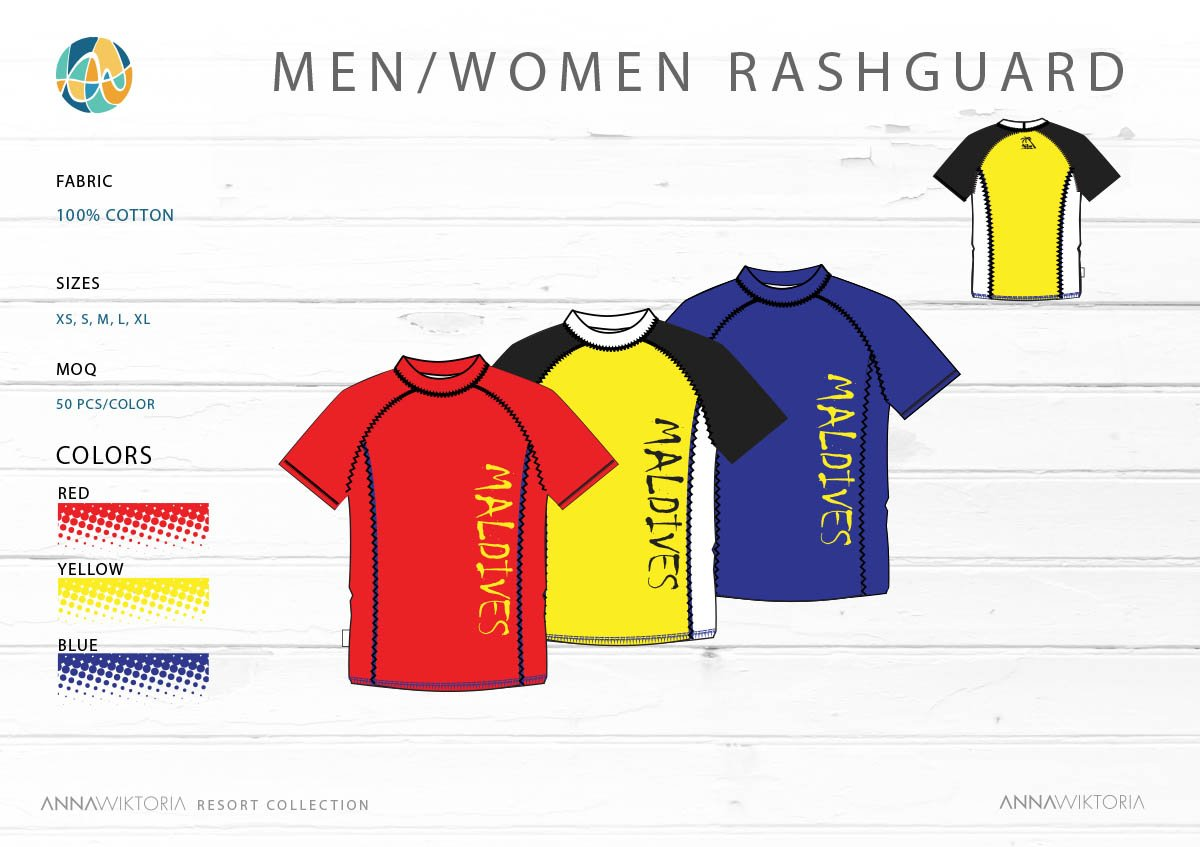 AnnaWiktoria Men_Woman Rashguard