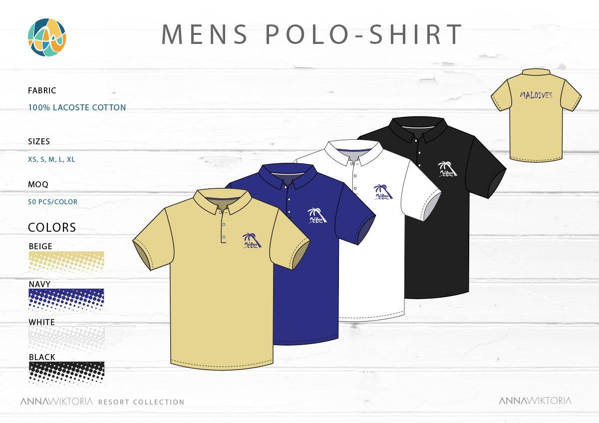 AnnaWiktoria Mens Polo Shirt 2
