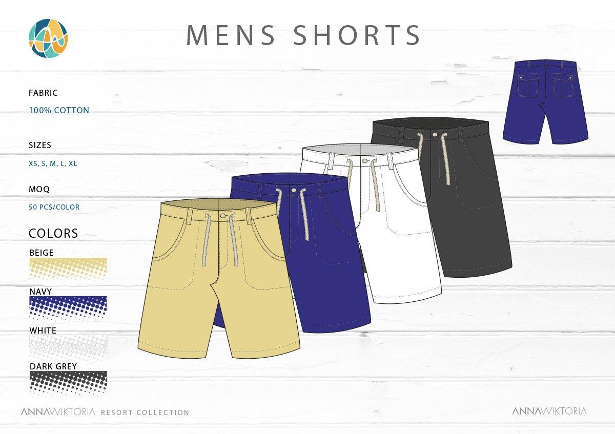 AnnaWiktoria Mens Shorts