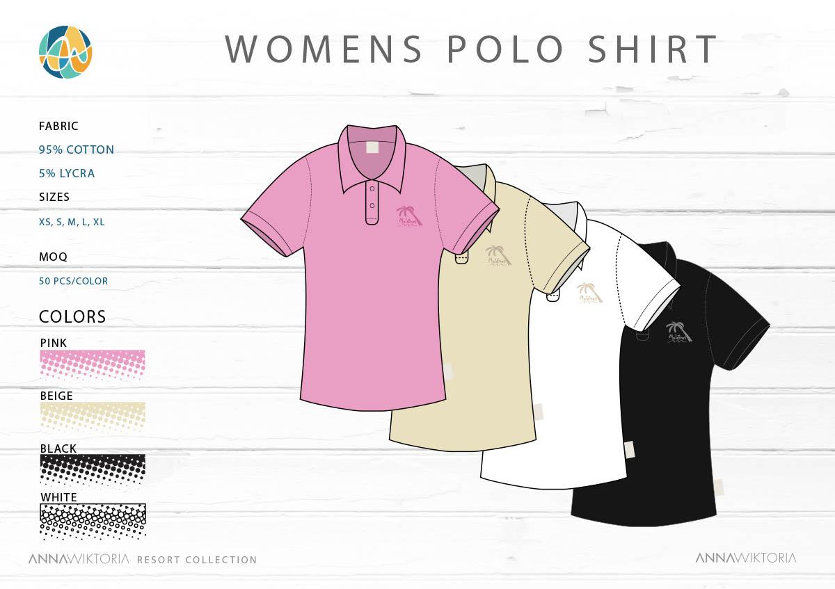 AnnaWiktoria Womans Polo