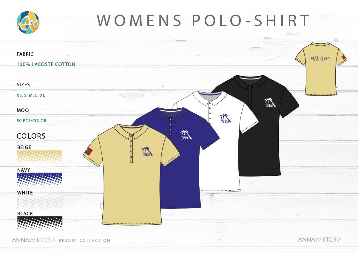 AnnaWiktoria-Womens Polo Shirt