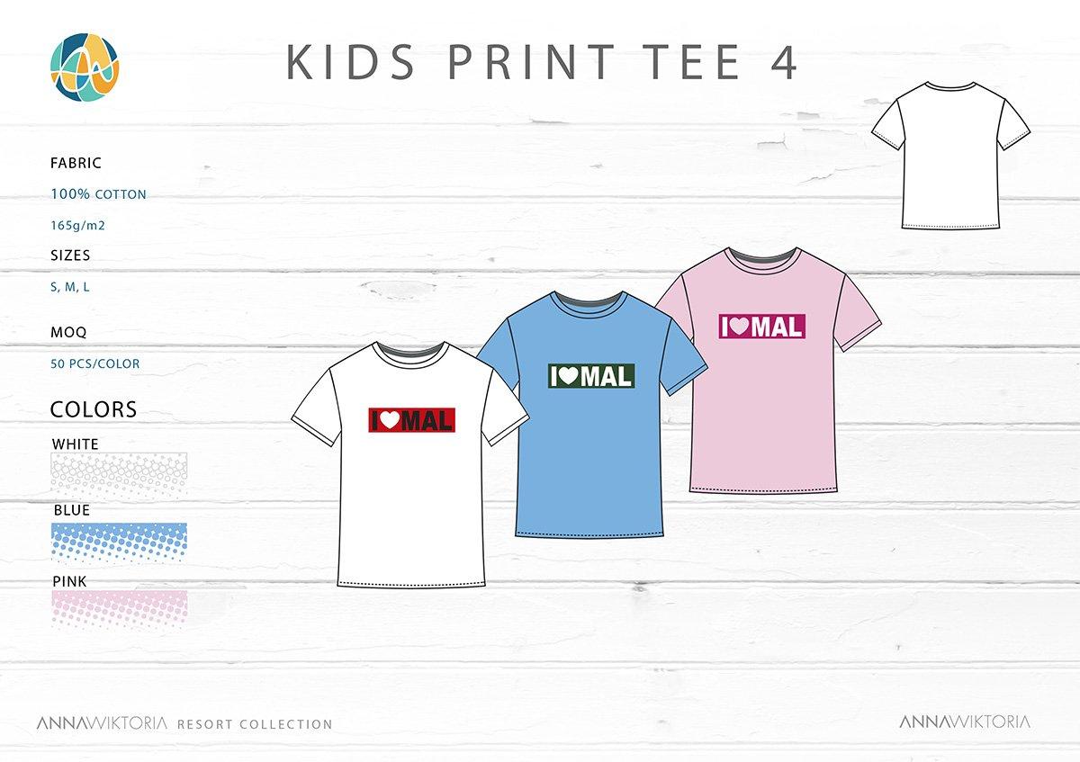 Anna Wiktoria Kids Print T-shirt