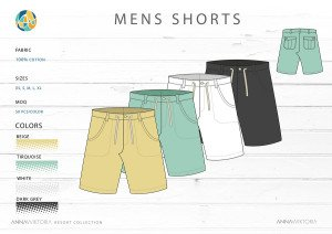 Anna Wiktoria Men's Shorts
