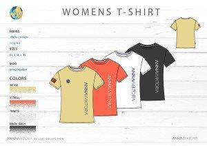 Anna Wiktoria Womens Tshirt